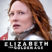 Cate Blanchett as Elizabeth 1