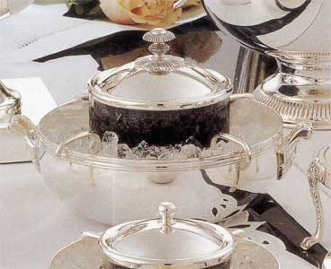 Christofle Caviar Server