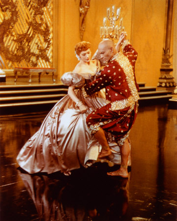 "Deborah Kerr and Yul Brynner in ""The King and I"""