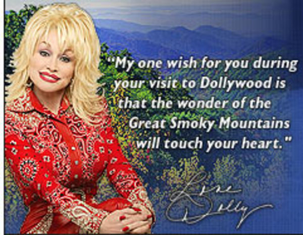 Dolly Parton on Dollywood