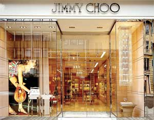 Jimmy Choo shoe store