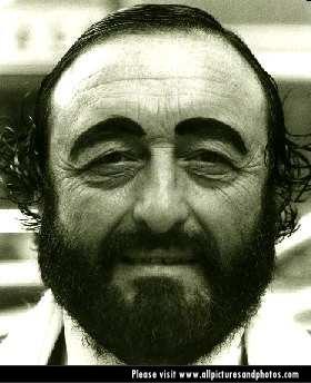 Luciano PavarottiWhite