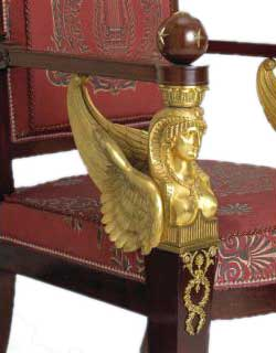 Ann Getty arm chair