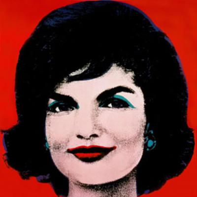 First Lady Jackie Kennedy by AndyWarhol