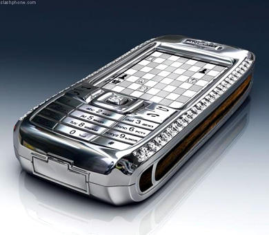 Diamond cell phone $1.3 mil