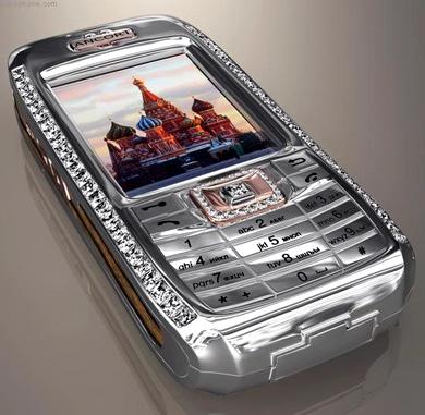 Diamond cell phone $1.3mil