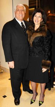 Dennis Basso with PamelaFiori