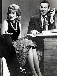 Johnny Carson and Joan Rivers
