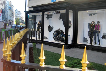 The House of Chanel in Paris