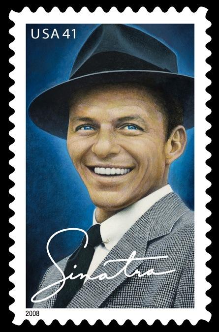 Sinatra U.S. postagestamp