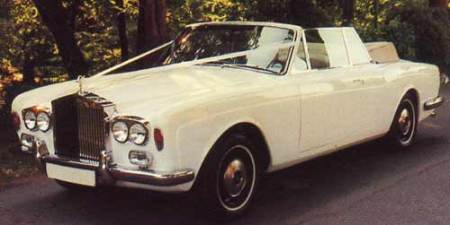 white Rolls RoyceCorniche