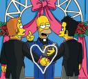simpsons gay marriage