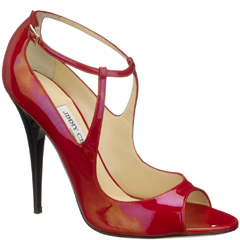 Jimmy Choo red patent 2