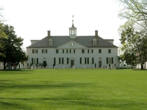 George Washington\'s home in Mt. Vernon