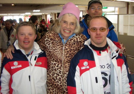 Mrs Eunice Kennedy Shriver at Special Olympics Nagamo 2005