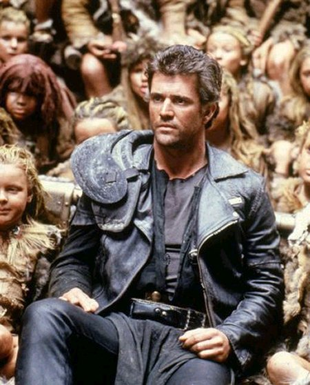 Mel Gibson as Mad Max in Beyond Thunderdome