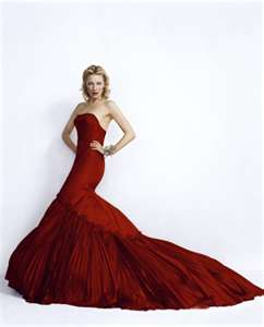 Cate Blanchette in red