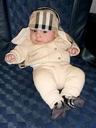 baby travel gear by Burberry