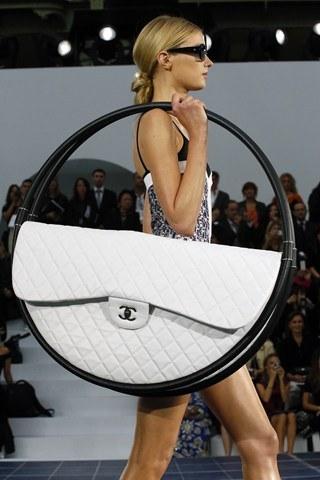 Chanel Hula Hoop Handbag by Karl Lagerfeld 2013