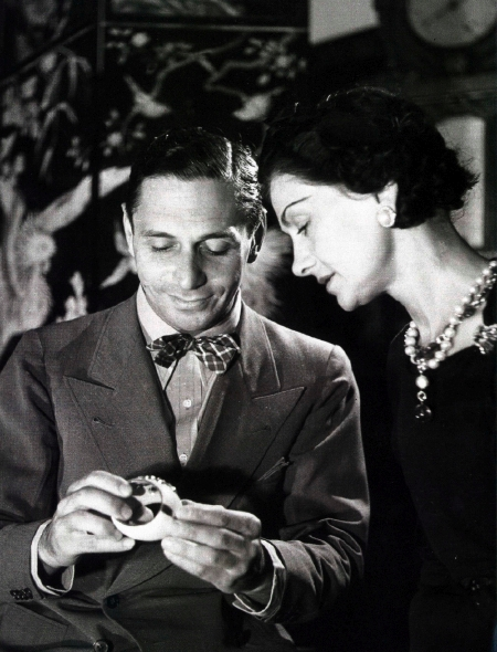 CoCo Chanel and Pierre Wertheimer number 5