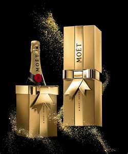 Moet champagene for the holidays