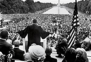 Rev Dr Martin Luther King Jr in Washington DC August 1963