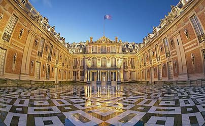 Palace Versailles in Paris France