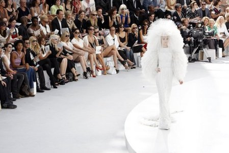 Chanel white wedding 2008