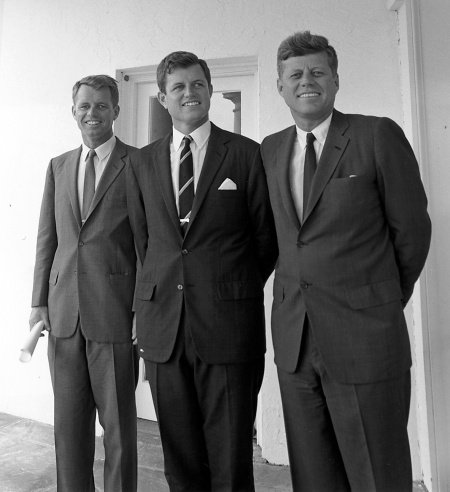 John Ted and Robert Kennedy