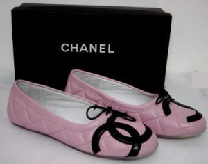 Chanel Ballet Slippers pink