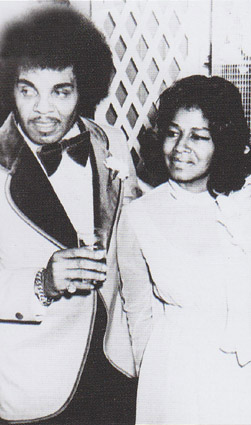 Katherine Jackson with husband Joe Jackson