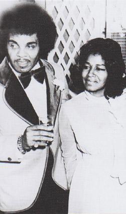Katherine Jackson with husband Joe Jackson