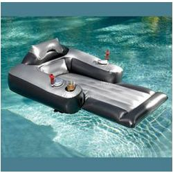 Pool Shark Inflatable Pool Lounger