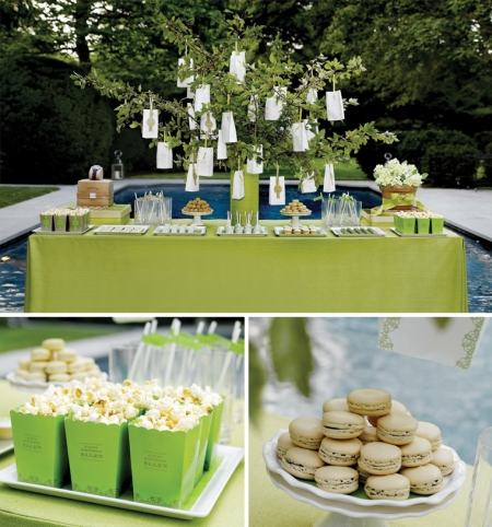 Stunning poolside Hamptons soiree