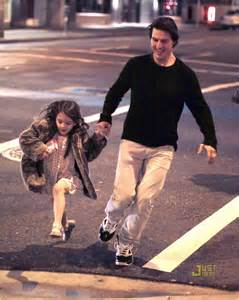 Tom Cruise with daugter Suri