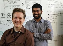 Dave Merrill and Jeevan Kalanithi of Sifteo Cubes