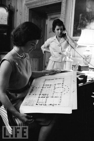Jackie Kennedy First Lady WH renovation 2
