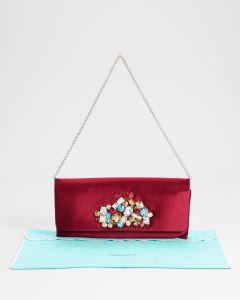 Tiffany-Co-LN-Satin-Evening-Bag_ GARNET