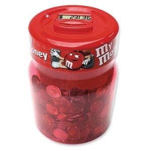 M M Digital Coin Counting Money Jar  at Amazon