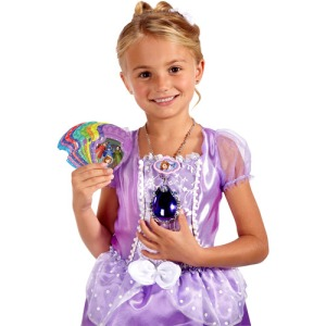 Sofia the Fisrt Mgical Transforming Dress and Magical Talking Amulet