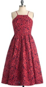 Tracey-Reese-Feelin Ruby Dress
