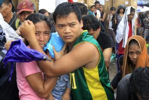 pHILLIPPINE ISLANDS TYPHOON RAVAGED