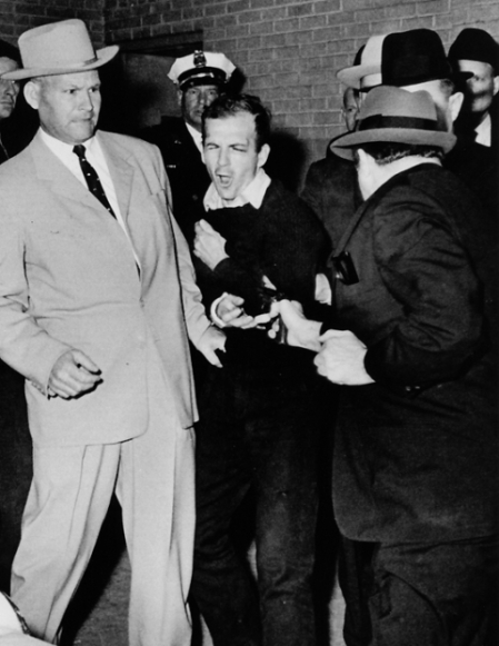 Photo of Ruby shooting Oswald taken by Robert H Jackson