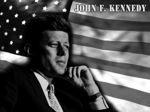 President John F Kennedy profile