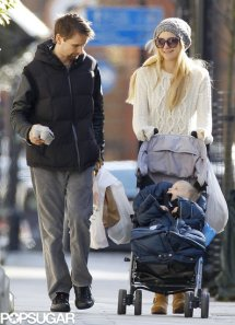 Kate-Hudson and Baby Bellamy and Bing  in Black
