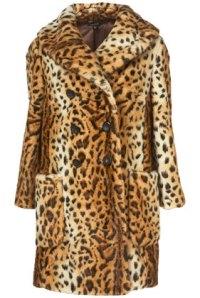 Leopard Coat by Alexander McQueen