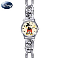Replica of First Mickey Mouse Watch 1933  by Bradford Exchange