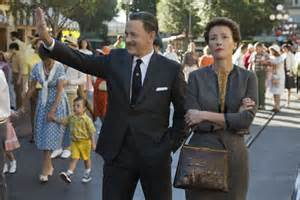 Saving Mr Banks starring Tom Hanks and Emma Thompson