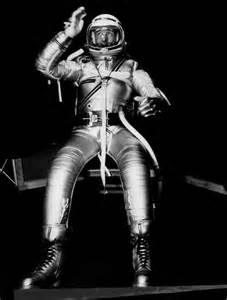 Scott Carpenter in outer space