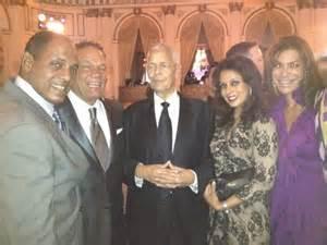 Senator Julian Bond and Family